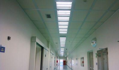 Controsoffitti modulari per Cleanroom